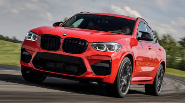 BMW X4 M Competition - front cornering