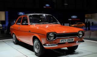 Ford Escort Mk1 front orange