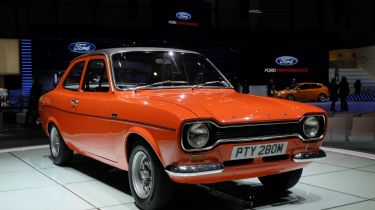 Ford Escort Mk1 front orange