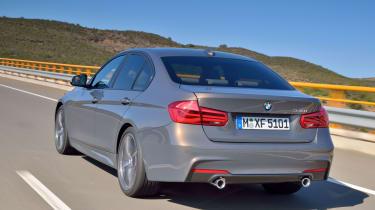 2015 BMW 3-Series facelift rear
