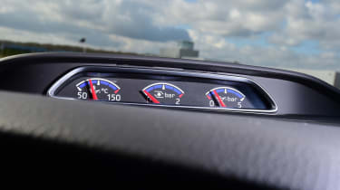 Ford Focus RS first UK drive - gauges