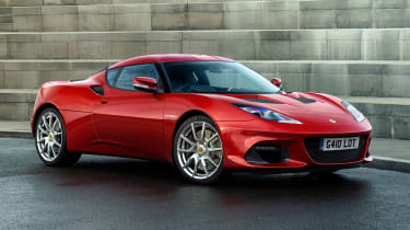Lotus Evora GT410 - front static