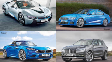 New BMW models - header
