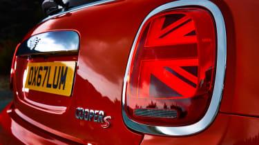 MINI hatch - rear light