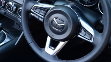 Mazda MX-5 long termer - first report steering wheel