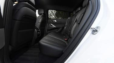 BMW X6 - rear seats