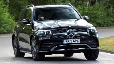 Mercedes GLE - front cornering