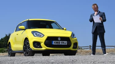 Suzuki Swift Sport long-term test - front