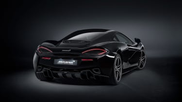 McLaren 570GT MSO Black Collection Rear three quater