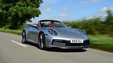 Porsche 911 Cabriolet - front tracking