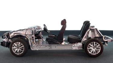 Peugeot Citroen EMP2 platform side