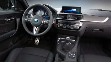 New BMW M2 Competition Pack - interior