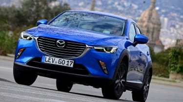 Mazda's CX-3 is based on the recently launched 2 supermini.