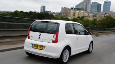 Used Skoda Citigo - rear action