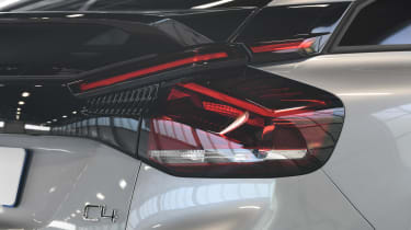 Citroen e-C4 - rear light