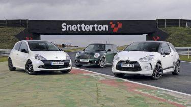 Citroen DS3 Racing vs rivals