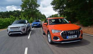 Audi Q3 group header