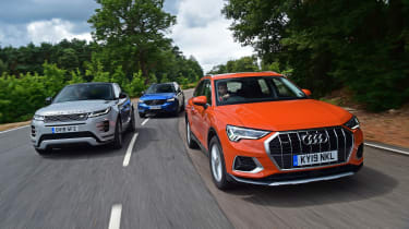 Audi Q3 group header