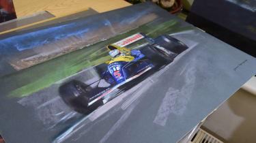 Strokes of genius - vintage Renault F1