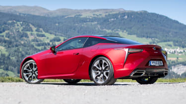 Lexus LC 500 - rear static