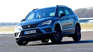 cupra ateca long-termer action shot