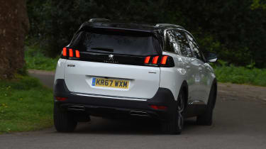 Peugeot 5008 long-term test - rear