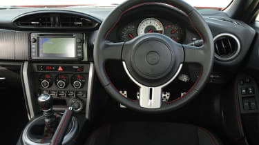 Toyota GT 86 interior
