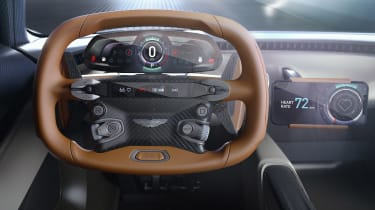 Aston Martin 003 concept - steering wheel