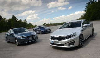 Kia Optima vs rivals