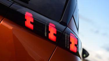 Peugeot 2008 - rear lights