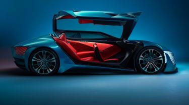 DS X E-Tense concept - door