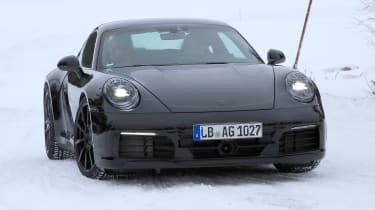 Porsche 911 spy shot - daytime front