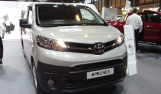 Toyota Proace CV show - front three quarter