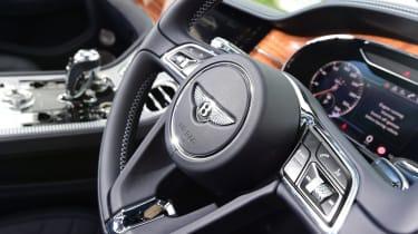 2018 Bentley Continental GT - steering wheel