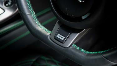 Lister Thunder steering wheel