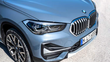 BMW X1 review - front