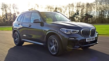 BMW X5 - front action