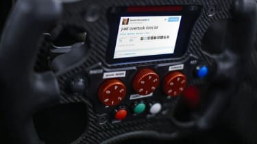 Red Bull F1 in race tweeting technology