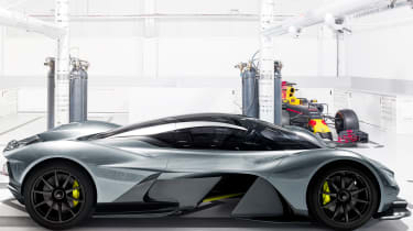 Aston Martin RB 001 official - side