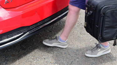 Audi A7 Sportback - boot sensor