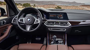 BMW X5 - dash