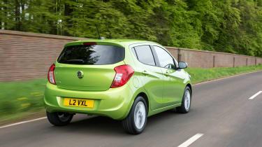 Vauxhall Viva 2015 - rear tracking