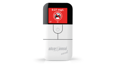 AlcoSense Excel breathalyser unit