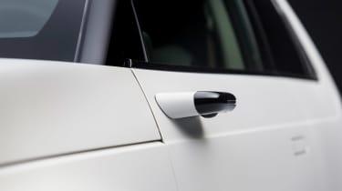 Honda e prototype camera mirror front