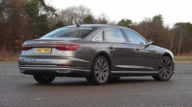 Audi A8 - rear