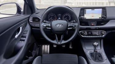 hyundai i30 fastback n line interior
