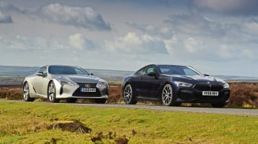 BMW 8 Series vs Lexus LC - head-to-head