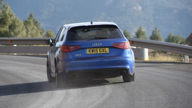 Audi RS3 - long-term - rear