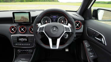 Mercedes A45 AMG dash