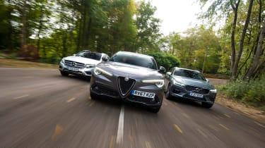 Alfa Romeo Stelvio vs Volvo XC60 vs Mercedes GLC - head-to-head